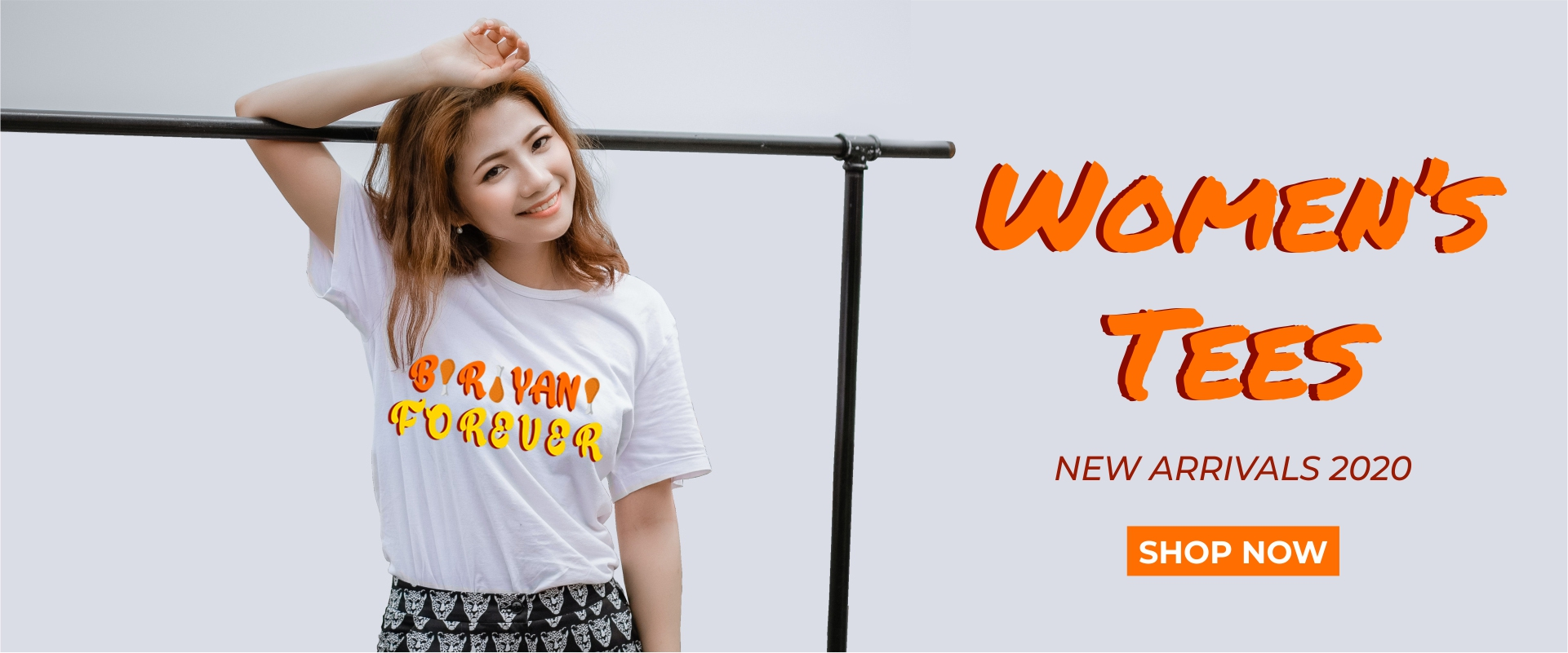 Biriyani Forever Womens Tshirt - Online